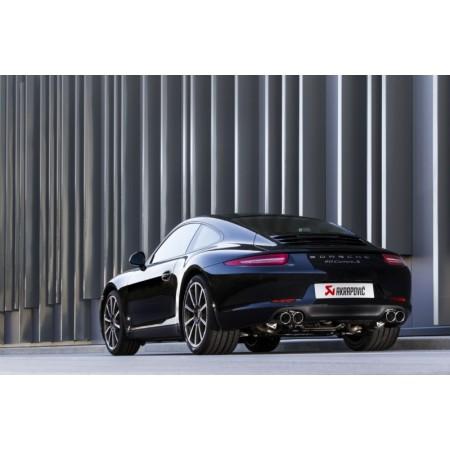 Akrapovic Échappement Slip-On - Porsche 911 Carrera Série (991) 2012-15