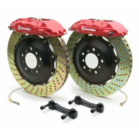 Kit avant Brembo GT (4 piston, 345x28mm) - Porsche 911 Carrera 4 (997) (06+) / 2C1.8007A1 - Apex Performance