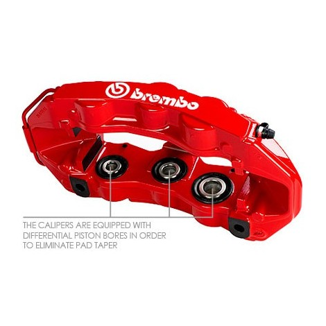 Kit avant Brembo GT (6 piston, 380x34mm) - Ferrari 550, 575 (96-05)