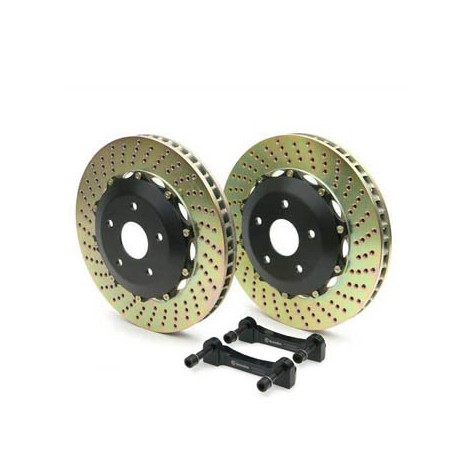 Kit upgrade disques avant Brembo (405x36mm) - Audi RS6 (C6) (08+) / 101.9501A - Apex Performance