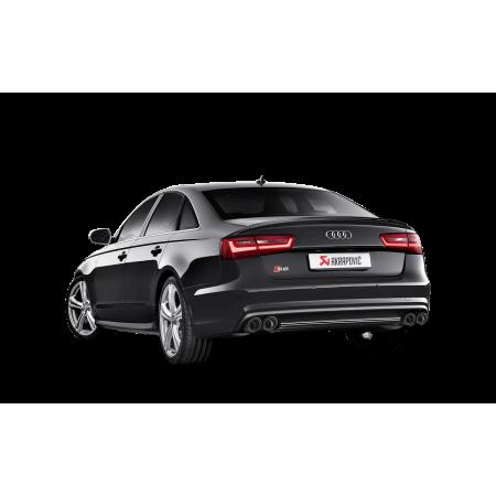 Akrapovic Échappement Evolution - Audi S6 Avant / S6 Limousine / S7 Sportback (C7) (2013-17)