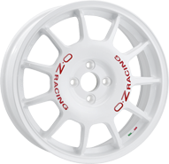 OZ Leggenda Race White Red Lettering
